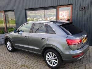 Audi Q3 blindering ramen