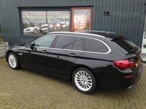 BMW 5-serie touring blindering ramen