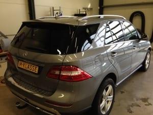 Mercedes GLE blindering ramen
