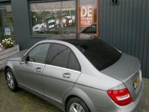 Mercedes c-klasse blindering ramen