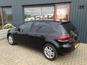 Volkswagen Golf zwart blindering ramen 02