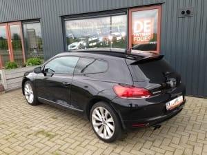 Volkswagen Scirocco zwart blindering ramen