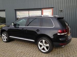 Volkswagen Touareg zwart blindering ramen 02