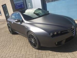 Alfa Romeo Brera zijdeglans grijs 1080-S261 Satin Dark Grey-5