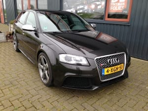 Audi RS3 Glans Zwart Avery Gloss Black Metallic-5