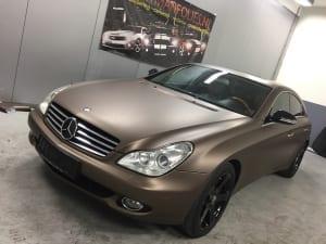 Mercedes CLS Wrap Mat Bruin 1080-M209 Matte Brown Metallic-3