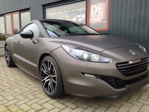 Peugeot RCZ mat grijs 1080-m211 Matte Charcaol Metallic-7