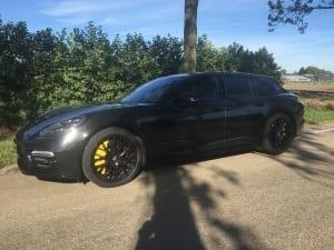 Porsche Pannamera Glans zwart 1080-G212 Gloss Black Metallic-8
