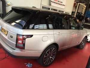 Range Rover blinderen ramen