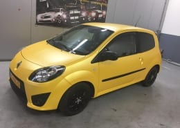 Renault Twingo Mat Geel Matt Sunflower Metallic-1