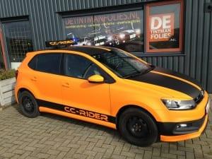 VW Polo Mat Oranje 1080-M54-4