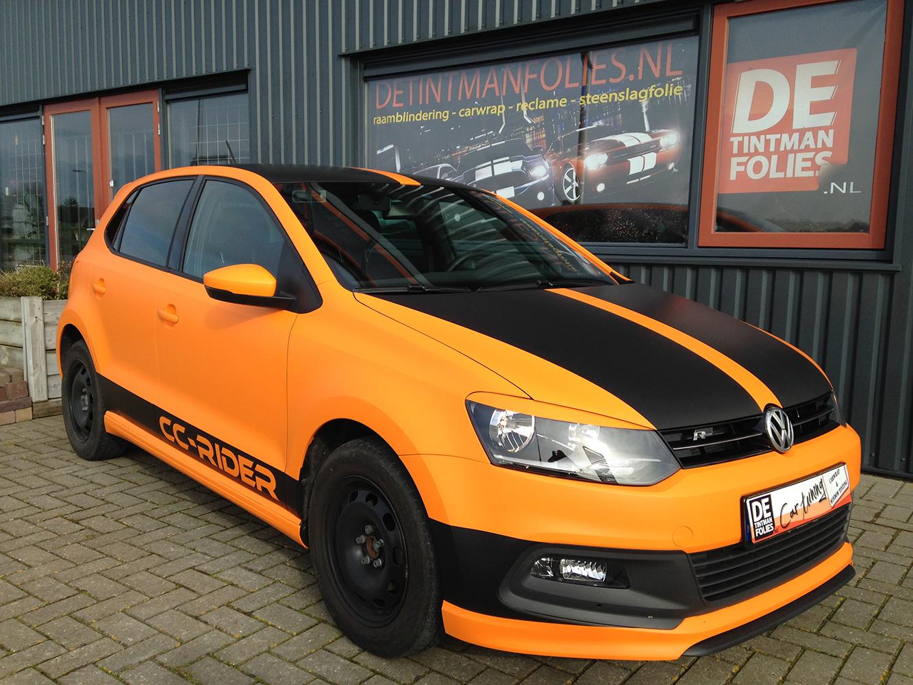VW Polo Mat Oranje 1080-M54-7