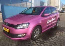 VW Polo Wrap Roze-4