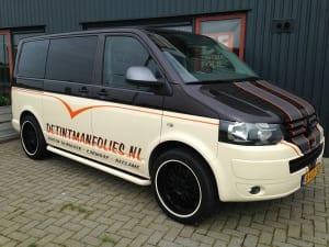 VW T5 reclame Transporter De Tintmanfolies-3