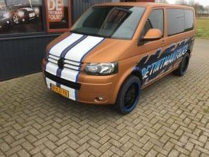 VW Transporter T5 wrap reclame De Tintmanfolies-9
